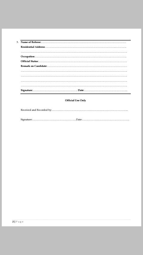 UNIBEN Postgraduate General Admission Requirements