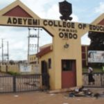 Adeyemi College of Education Sandwich Admission List is Out for 2016/2017 session